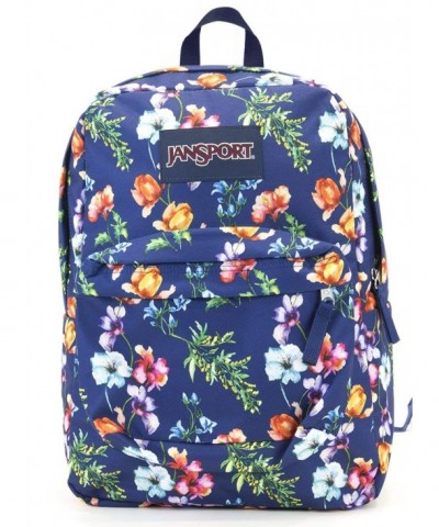 Jansport Superbreak Backpack mountain meadow