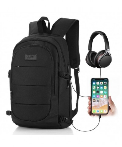 Backpack Business Headphone Interface Resistant