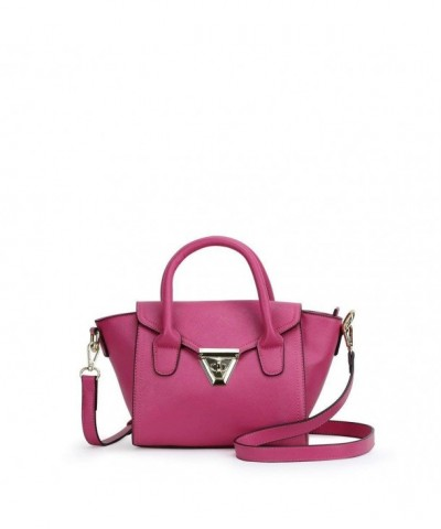 Darlings Mini Saffiano Satchel Pink
