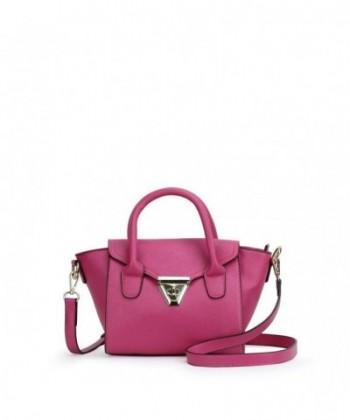 Darlings Mini Saffiano Satchel Pink