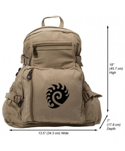 Starcraft Heavyweight Canvas Backpack Khaki