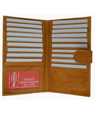 Marshal Genuine Leather Bi fold Holder