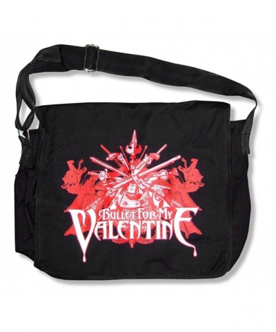 Bullet Valentine Sword Canvas Messenger