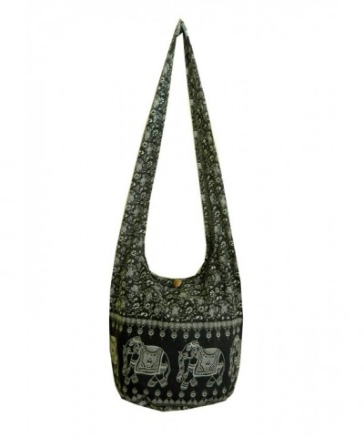 Elephant Floral Crossbody Shoulder Bohemian