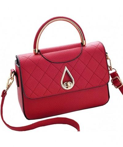 Covelin Leather Handbag Shoulder Crossbody