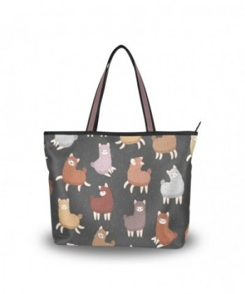 ALAZA Animal Fluffy Shoulder Handbag