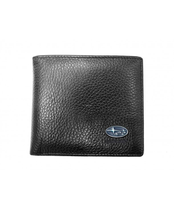 Subaru Leather Wallet Genuine Bifold