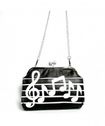 Stylish Themed Framed Shoulder Handbag