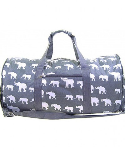 Elephant Duffle Travel Luggage Carryon