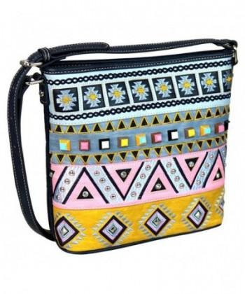 Montana West Handbags Western Embroidered