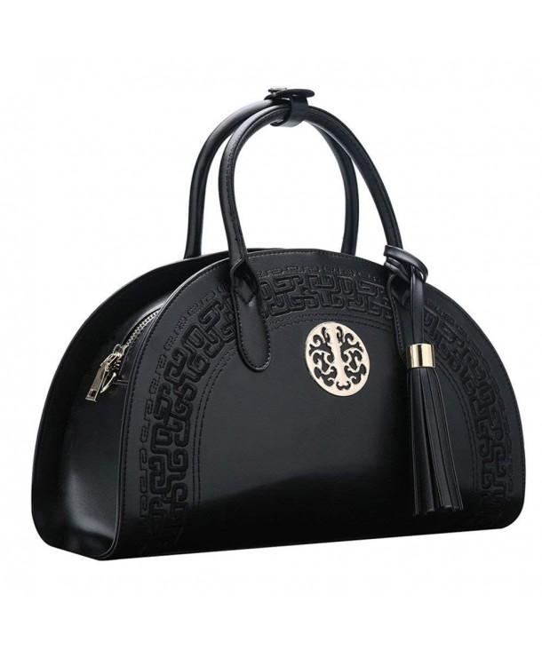 Newbestyle Tassel Top Handle Handbags Shoulder