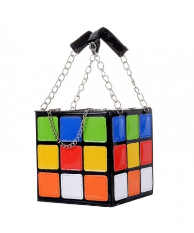 QZUnique Womens Rubiks Handbag Shoulder