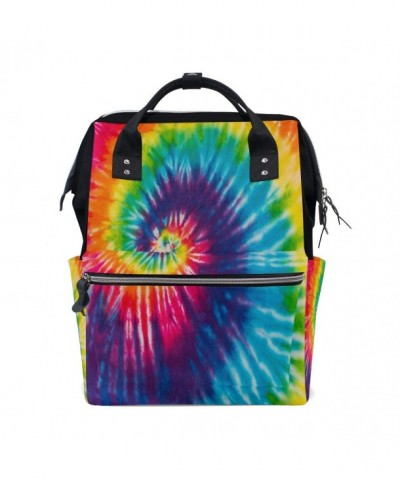 WOZO Abstract Multi function Diaper Backpack