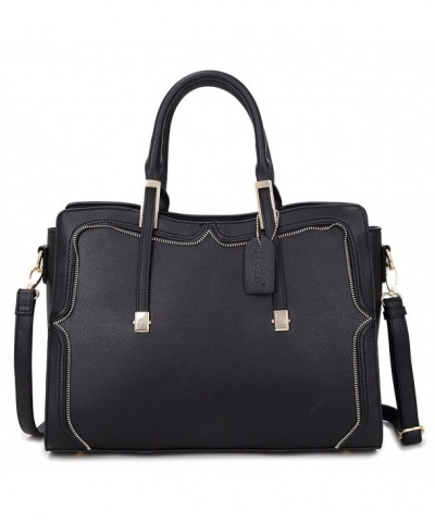 Handbag Shoulder Structured Crossbody 8172 black