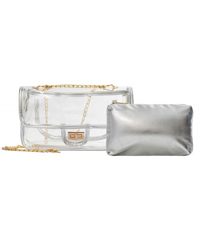Crossbody Transparent Messenger Shoulder Approved
