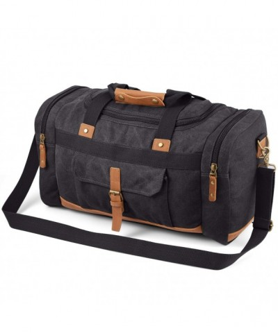 Plambag Canvas Luggage Duffel Shoulder