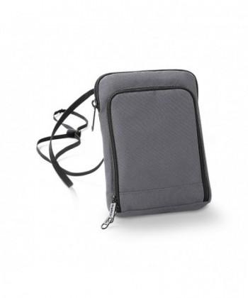 Bagbase Travel Wallet Size Graphite