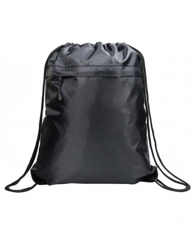 Drawstring Backpack String Sackpack Pockets