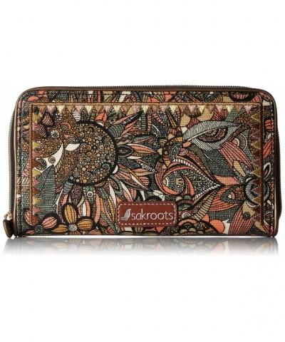 Sakroots Large Zip Around Wallet