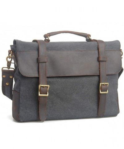 Bronze Times Shoulder Messenger Briefcase