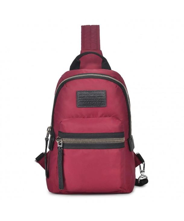 Wolfrealm Backpack Crossbody Shoulder Waterproof