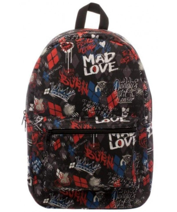 Suicide Squad Love Backpack 17in