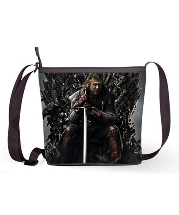 Ladies Sling Shoulder Eddard Print