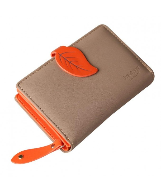 Prettyzys Wallet Leather Middle Holder