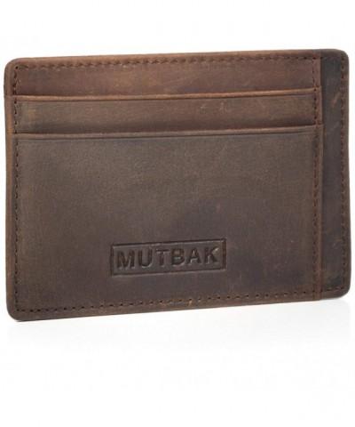 MUTBAK Sentry Cardholder Blocking Minimalist