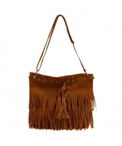 Fanala Womens Cross body Shoulder Tassels
