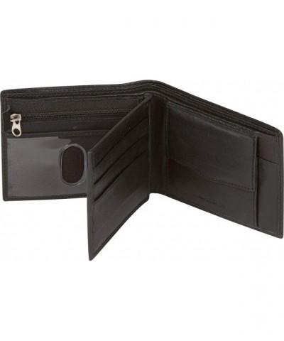 Sakkas Bi Fold Leather Wallet Pockets