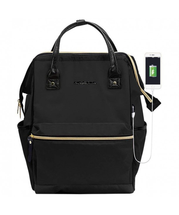 KROSER Backpack Computer Repellent Men Black