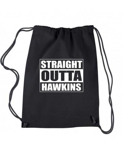 Backpack Stranger Straight Hawkins Drawstring