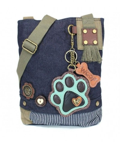 Canvas Crossbody Messenger handBags Keyfob