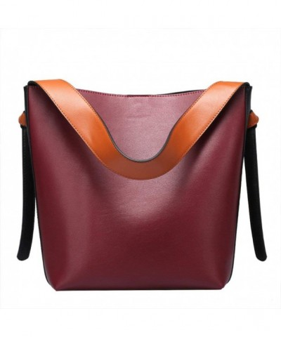 Genuine Leather Handbags Shoulder Top handle