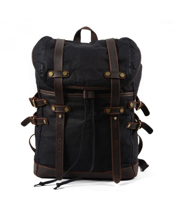 Mozone Vintage Backpack Waterproof Rucksack