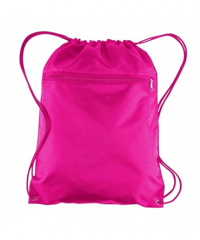 BagzDepot Promotional Polyester Drawstring Backpack