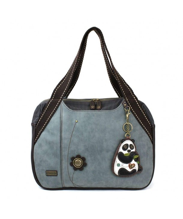 Chala Large Bowling purse Indigo