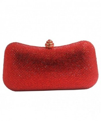 DMIX Womens Crystal Evening Clutches