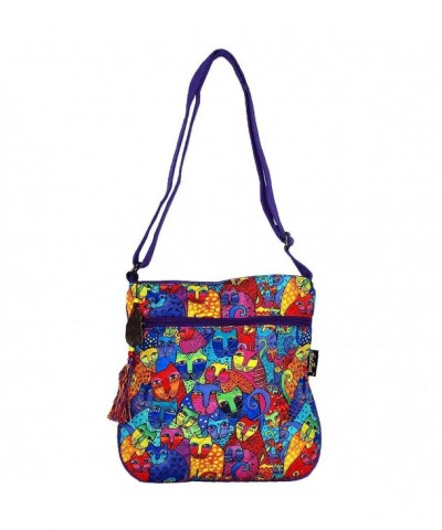 Laurel Burch Feline Crossbody Shoulder