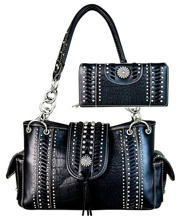 Montana West Concho Collection Satchel