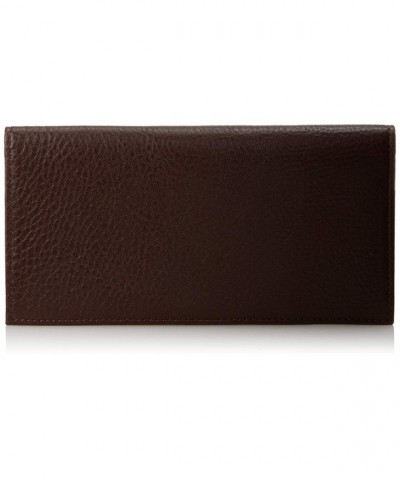 Johnston Murphy Checkbook Cover Brown