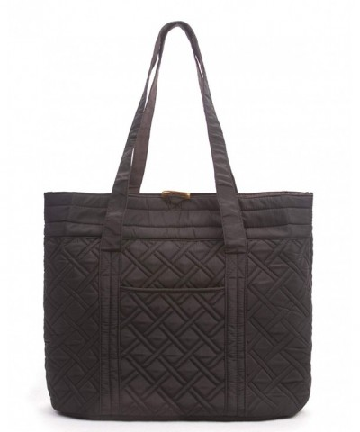 Overbrooke Reversible Quilted Black Mocha