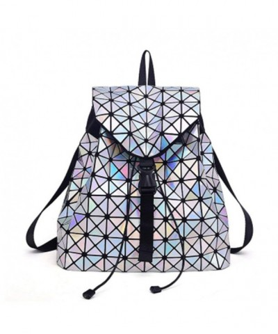 Feminine Fashion Nightlight Geometric Backpack