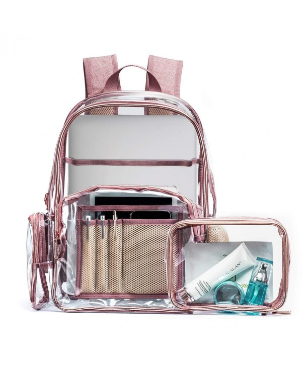 SIWA MARY Backpack Transparent Multi Pockets