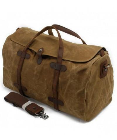 S ZONE Waterproof Leather Handbag Weekend