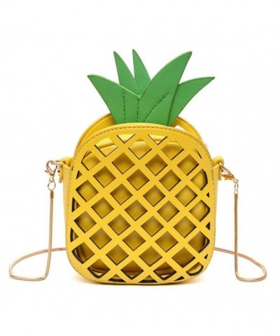 MILATA Pineapple Shaped Leather Clutch