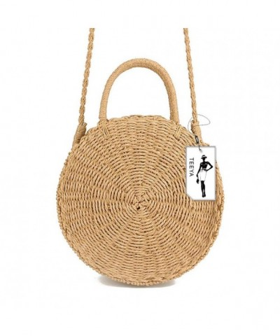 Straw Crossbody Shoulder Summer Handbags