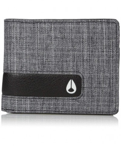 Nixon Showout Bi fold Wallet Black