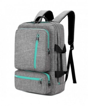 SOCKO Backpack Shoulder Knapsack Grey Green